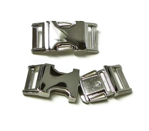 metal buckle collar nickel finish metal buckle upgrade for 3 4 quot or 1 quot collar on luulla