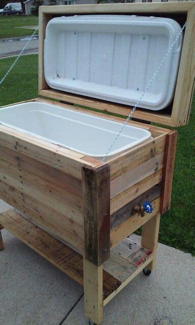 adrian mi pallet cooler wood pallets outdoor cooler