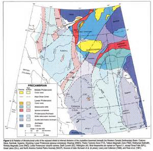 canada latitude map atlas of the western canada sedimentary basin
