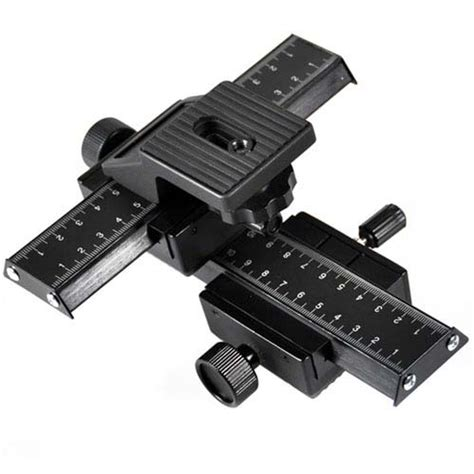 4 way macro focusing rail slider for nikon canon slr cameras