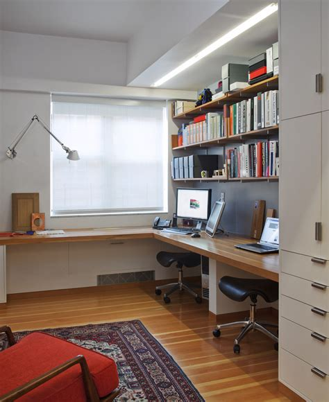 bookshelf with desk built in ikea home office traditional