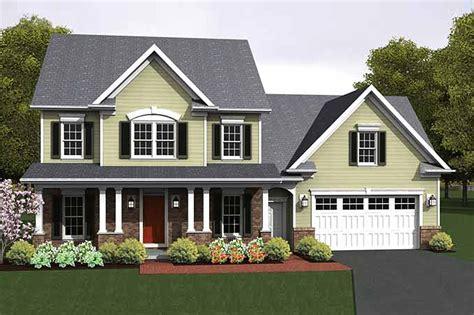 colonial garage plans colonial style house plan 3 beds 2 5 baths 1775 sq ft plan 1010 14 builderhouseplans