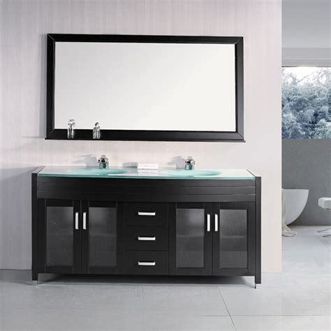 design element 72 quot waterfall sink bathroom vanity