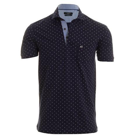 Kaos Giordano Contrast Collar Polo massimo polo shirt navy spot