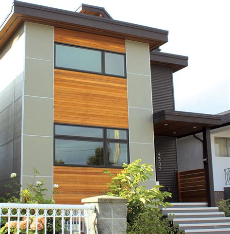 modern home design and build vancouver wa narrow passive house vancouver bc modern exterior