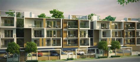 Residential Building Floor Plans by Low Rise Apartments In Gurgaon Woodview Residences