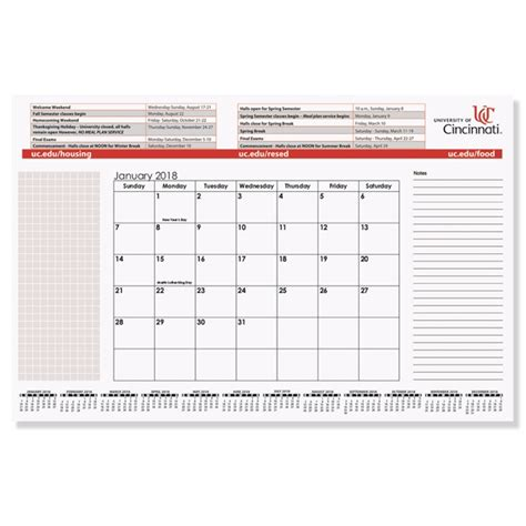 Small Desk Calendars Printed Small Calendar Desk Pad Usimprints
