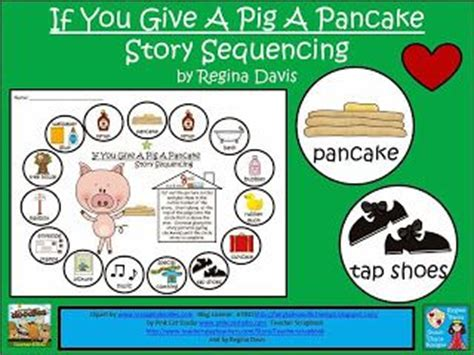 si le das un panqueque a una cerdita freebie if you give a pig a pancake story sequencing activity fairytalesandfictionby2 blogspot