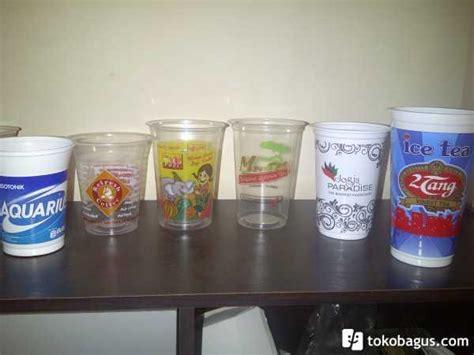 Jual Plastik Kemasan Sablon jual sablon gelas plastik tebal berkualitas atau cetak