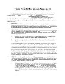 Residential Property Lease Agreement Template by Free Standard Residential Lease Agreement Template