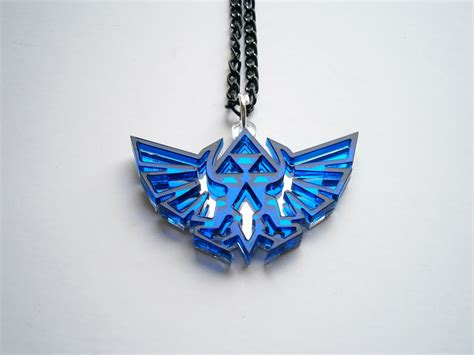 The Necklace by Blue Legend Of Necklace Hyrule S Royal Crest