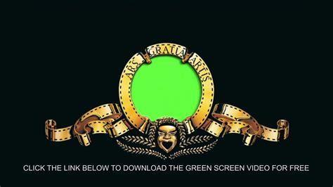 Customizable Mgm Intro Green Screen Youtube Mgm Intro Template