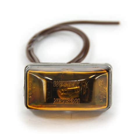 trailer marker lights requirements wesbar waterproof clearance side marker lights amber