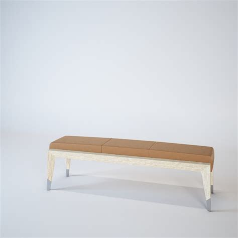 bedside bench upholstered bedside bench from wood of orion turri