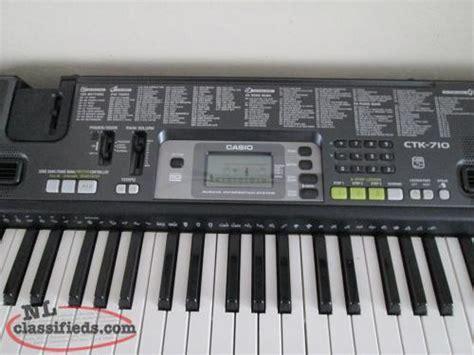 Keyboard Casio Ctk 710 casio ctk 710 carbonear newfoundland labrador