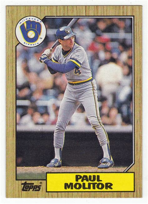 paul molitor swing 17 best images about milwaukee brewers on pinterest
