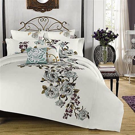 anthology lalo reversible comforter and sham set bed
