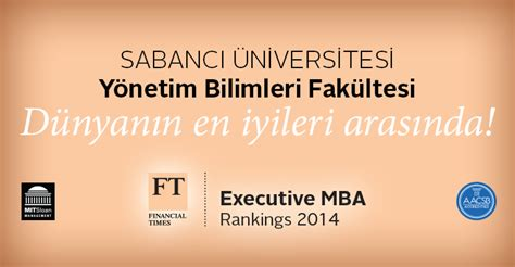 Is Executive Mba Right For Me by Y 246 Netim Bilimleri Fak 252 Ltesi D 252 Nyanın En Iyi Işletme