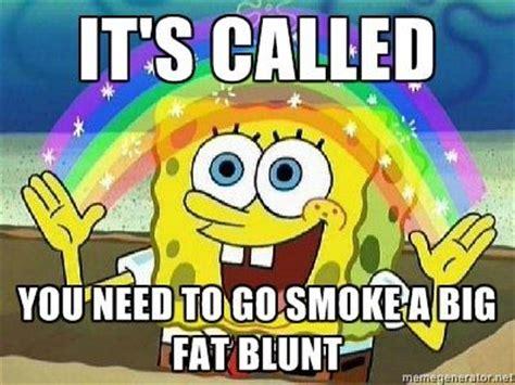Spongebob Weed Memes - weed marijuana green 420 sponge bob square pants rainbow