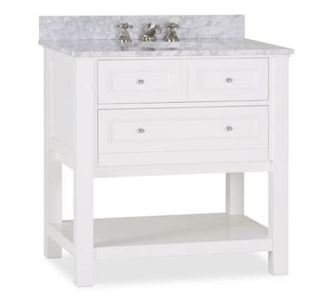 pottery barn sink console classic single sink console white pottery barn