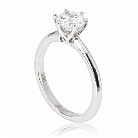 simple engagement rings diamondstud