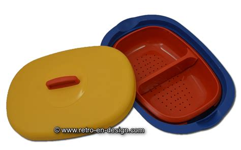 Tupperware Lotus Platter retro style serving tray bowl by tupperware recently sold retro design 2nd
