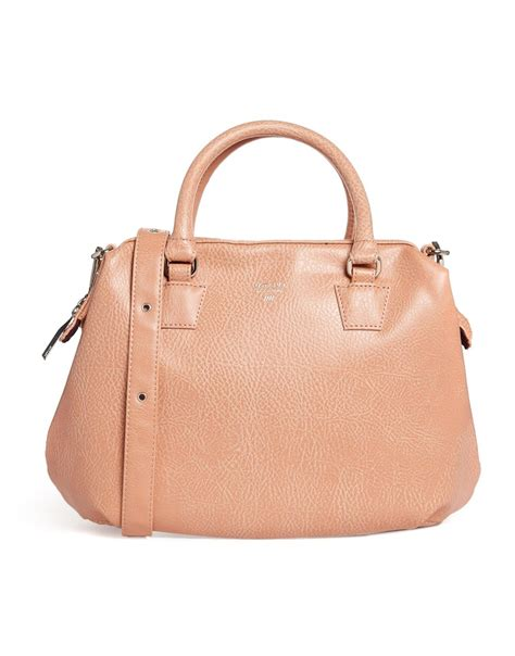 Patent Handheld Shopper Bag At Asos For Kate Moss On A Budget Style by Matt Nat Malone Handheld Doctors Bag In Pink Lyst