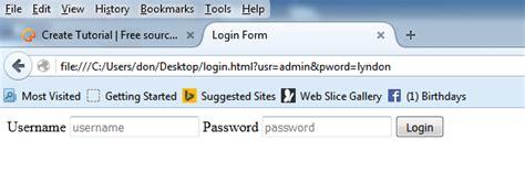 tutorial javascript login creating a login form using javascript free source code
