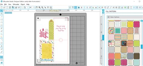 Two Image Sliding Card Template by Silhouette Uk Pop Up Slider Card With Free Cut File