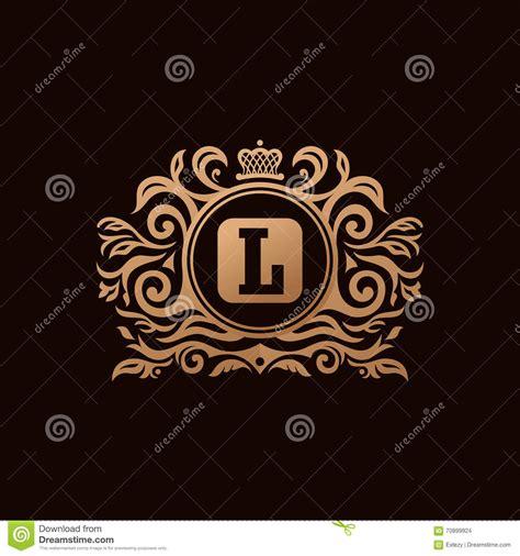 Emblem Logo Luxury Chrome elements for the decor of the logo stock photography cartoondealer 88260200