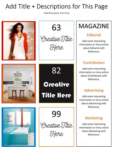 how to make a magazine using microsoft 174 word dotxes