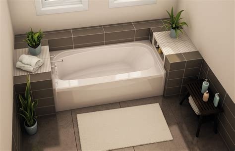 photos of bathtubs tof 2954 alcove bathtub aker by maax