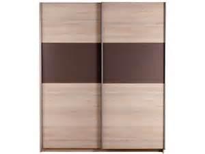 armoire 2 portes coulissantes graphic coloris conforama