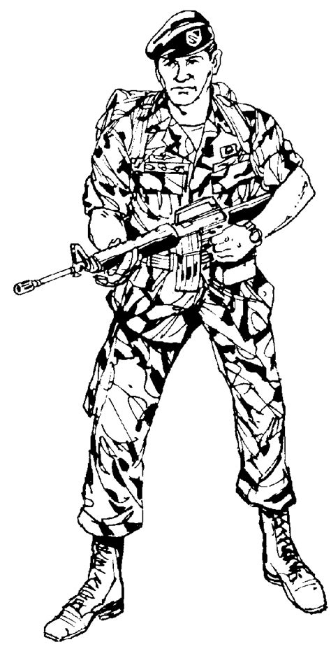 army coloring pages army coloring pages coloringpages1001