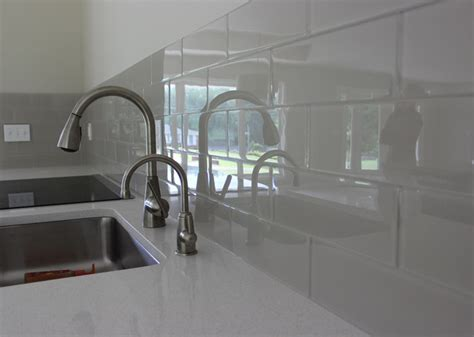 Backsplashes For Kitchen country cottage 4 quot x 12 quot glass subway tile kitchen