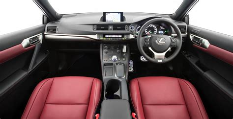 lexus sport car interior lexus ct200h review caradvice