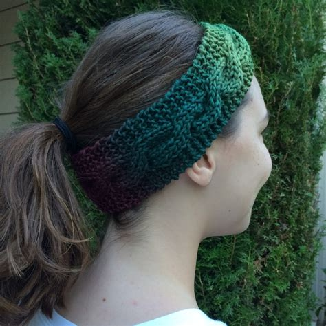 free pattern knitted headband blog nobleknits knitting blog