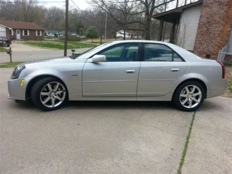buy car manuals 2004 cadillac cts transmission control sell used 2004 cadillac cts v 30 000 miles 5 7l v8 6 speed manual transmission in cape girardeau