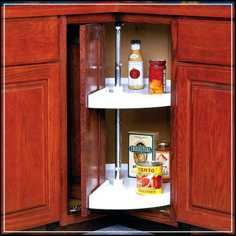 Lazy Susan Kitchen Cabinet by Lazy Susan Cabinet Effectively Completing The Storage
