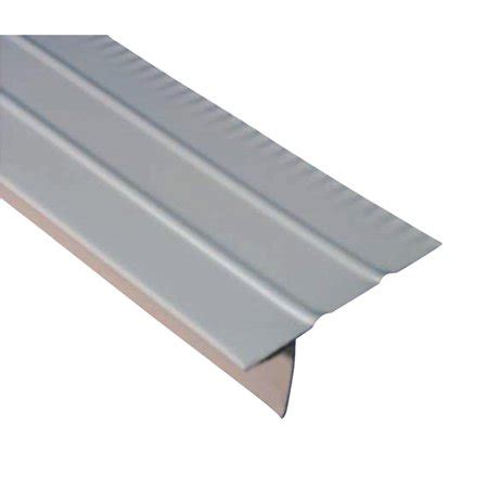 style a roof edge amerimax aluminum f style overhanging roof drip edge