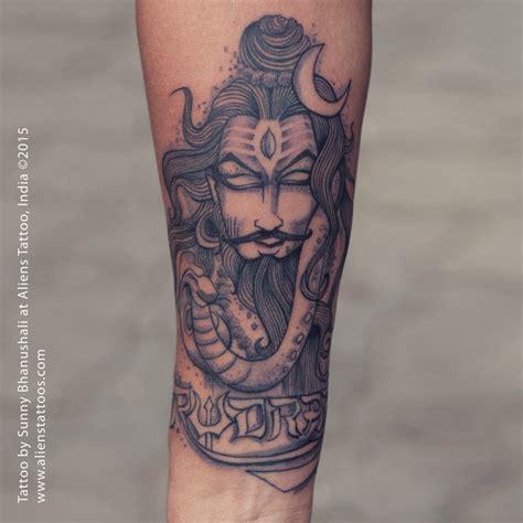 lord shiva tattoo for hand illustrative lord shiva tattoo by sunny bhanushali at