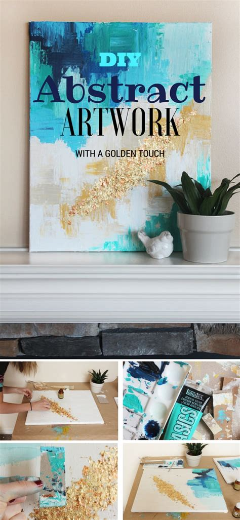 diy home painting ideen diy abstract