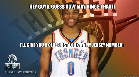 Russell Westbrook Meme - not pass guard guys i play point guard russell