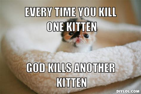 Meme Generator Kitten - kitten kitten kitten patrol cheap tiny young cats in