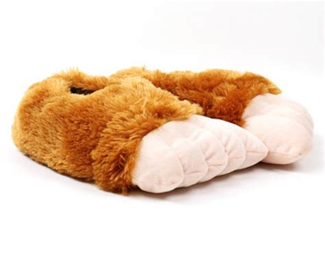 sasquatch slippers big foot slippers character slippers novelty slippers