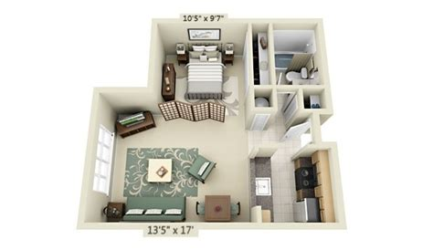 studio furniture layout studio apartment floor plans