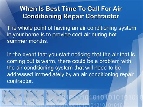 Top 5 Signs That Its Time To Call It Quits by When Is Best Time To Call For Air Conditioning Repair