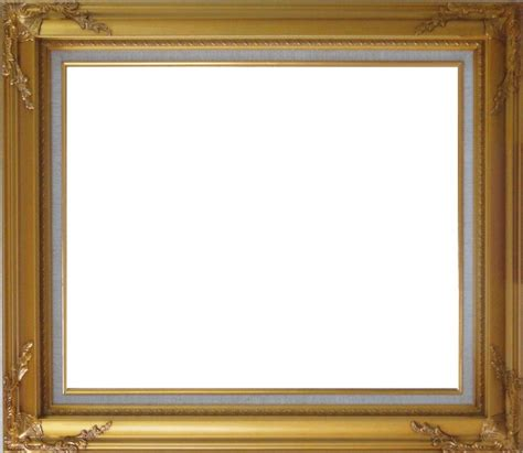 corner frame gold leaf wood frame with deco corners 20 x 24 inches