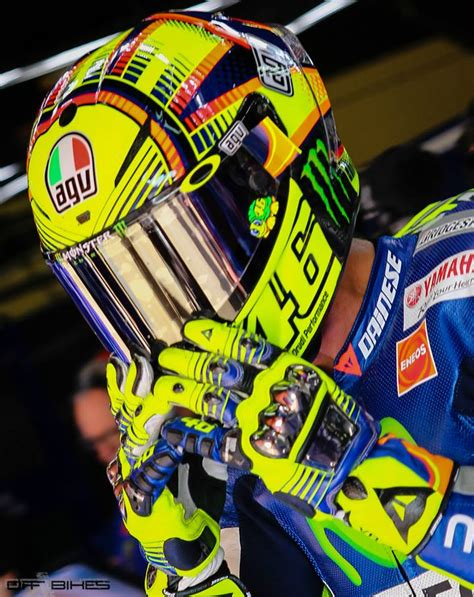 Vr 46 Sun And Moon Versity Ii by Racing Helmets Garage Agv Pistagp Valentino 2015 By