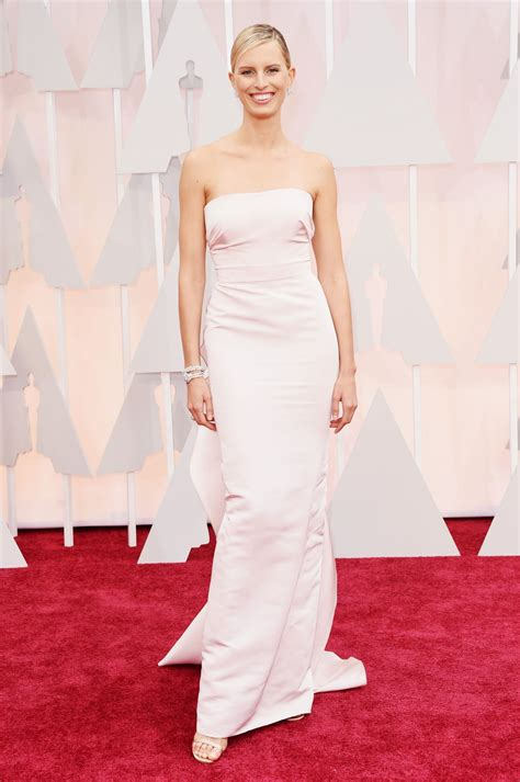 Oscars Carpet by Karolina Kurkova 2015 Oscars Carpet In